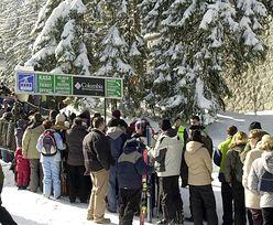 Aktualna sytuacja w Tatrach. Kolejki nie mają końca
