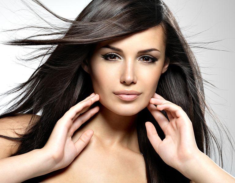 Gęste i mocne włosy