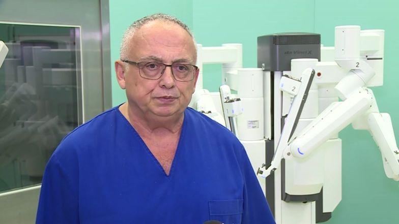Najnowocześniejszy robot chirurgiczny świata w warszawskim szpitalu