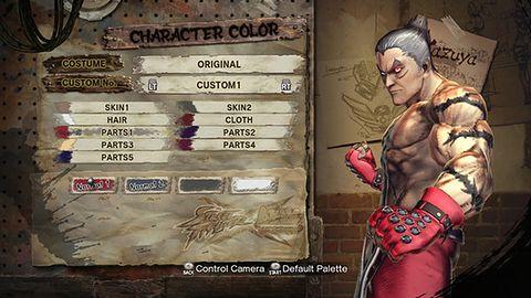 Galeria ze Street Fighter X Tekken