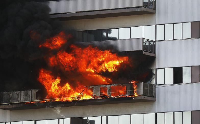 Ogromny pożar wybuchł w zachodnim Los Angeles