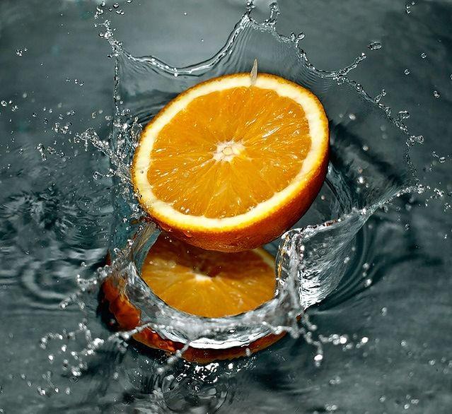 Mięta i pomarańcza