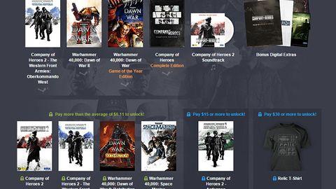 Macie zaległości z Company of Heroes czy grami ze świata Warhammera 40,000? Możecie nadrobić je za bezcen