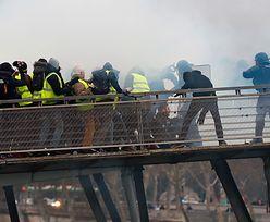 """Gorąco w Paryżu. Kolejny protest """"żółtych kamizelek"""""""