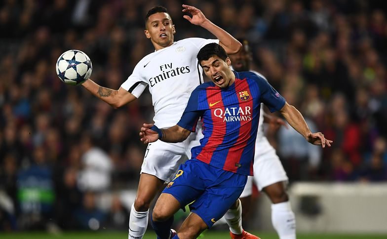 during the UEFA Champions League Round of 16 second leg match between FC Barcelona and Paris Saint-Germain at Camp Nou on March 8, 2017 in Barcelona, Spain.