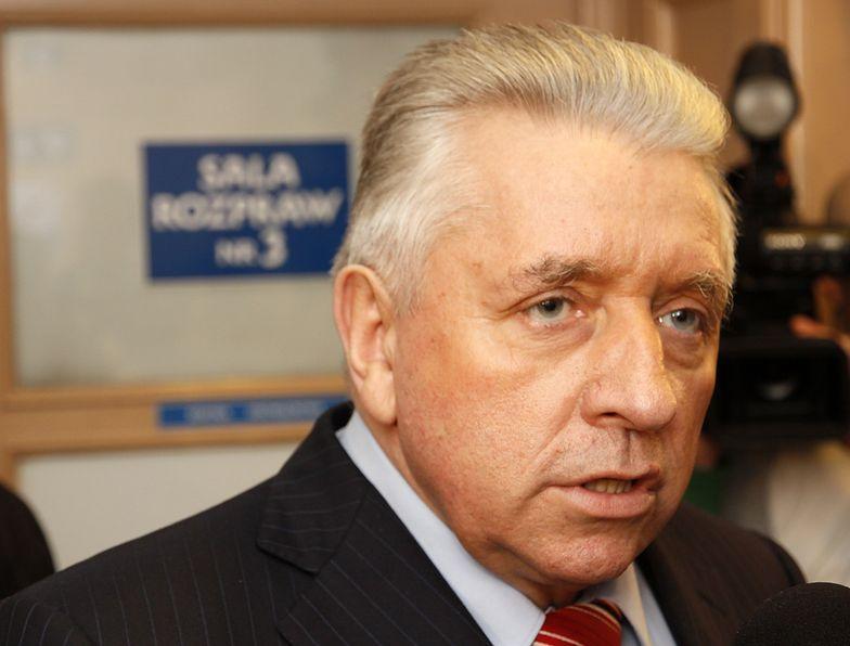 Andrzej Lepper na kilka miesięcy przed śmiercią