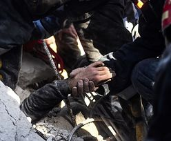 Zawalenie bloku w Aleppo. Nagranie z akcji ratunkowej