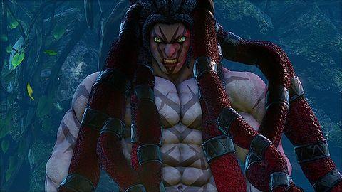 Debiutujący w Street Fighterze V Necalli to niezły wariat