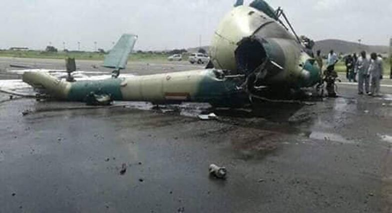 Sudan. Katastrofa helikoptera z urzędnikami państwowymi
