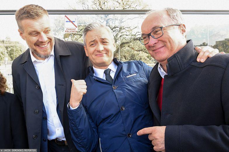 Wybory 2019. Adrian Zandberg, Włodzimierz Czarzasty i Robert Biedroń przekonują do oddania głosów na Lewicę