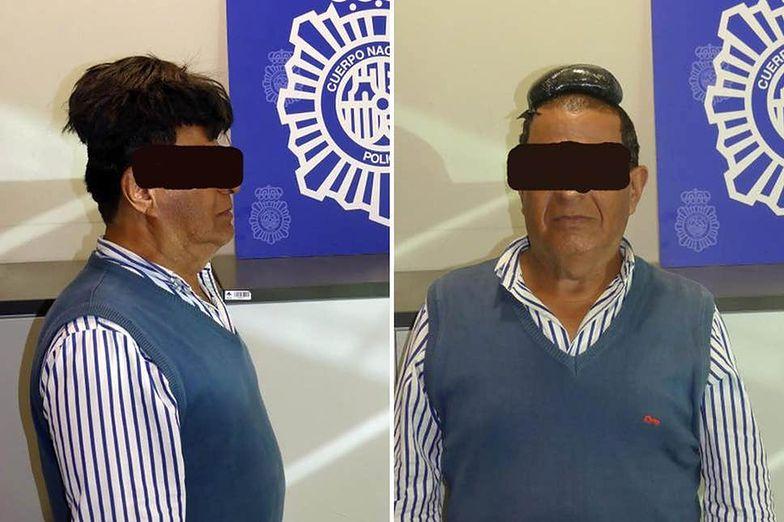 Barcelona. Mężczyzna ukrył pod peruką kokainę wartą ok. 130 tys. zł