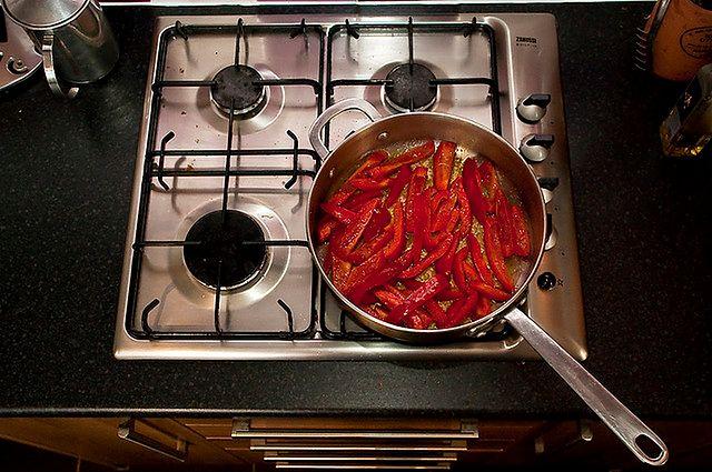 Temperatura niedostosowana do naczynia