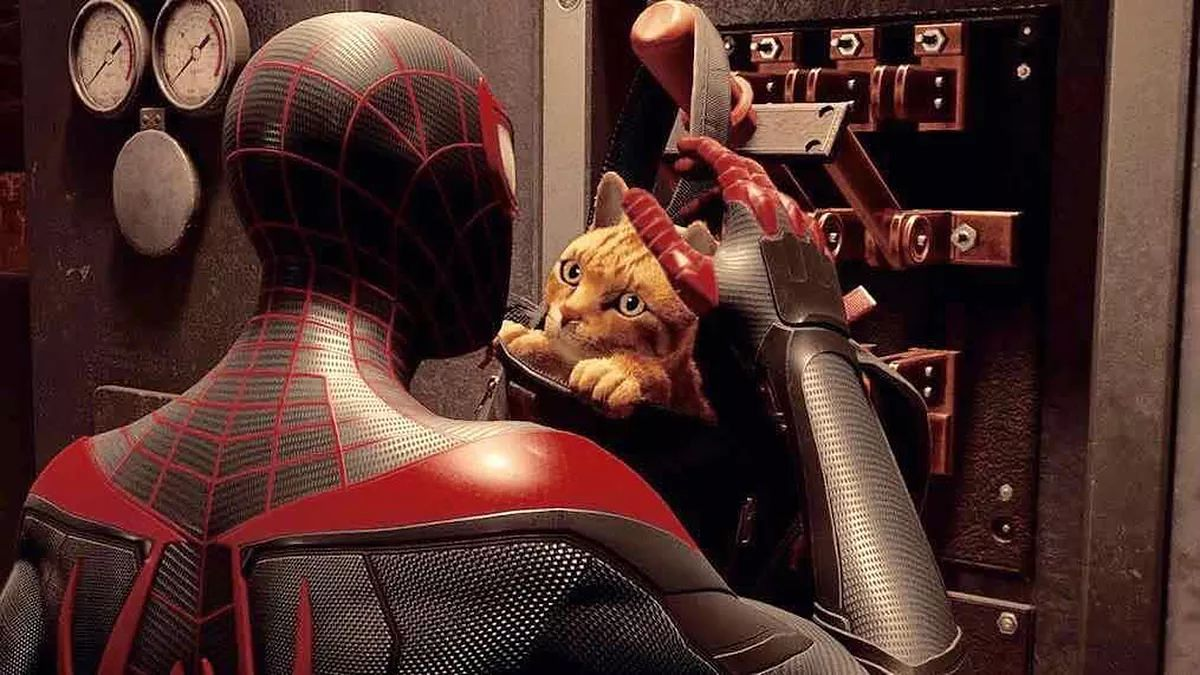 Spider-Man: Miles Morales będzie miał kompana. Kociego. Polygamia też. To znaczy - już ma!