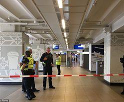 Atak nożownika w Amsterdamie. Policja postrzeliła napastnika
