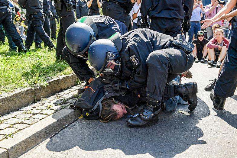 Policja nie patyczkowała się