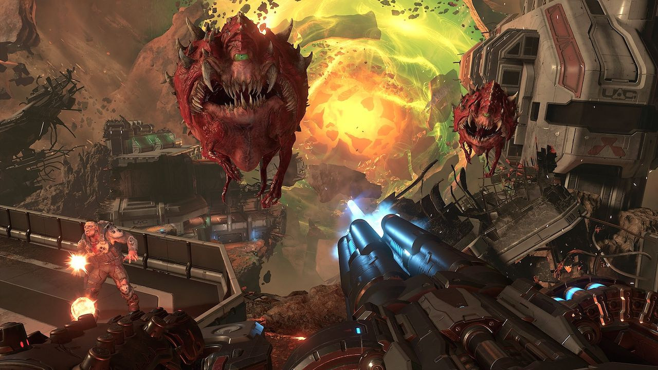 Twórcy Doom Eternal crunchowali, ale niektórzy nie widzą w tym nic złego