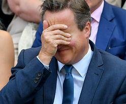 Panika w samolocie z Davidem Cameronem. Ochroniarz odsunięty od służby