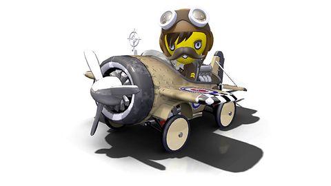 ModNation Racers z demem na PSP, z samolotami na PS3