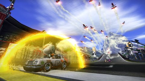 System broni w ModNation Racers