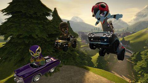 Twórcy Modnation Racers wybrali PS3 ze względu na darmowy PSN