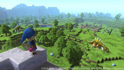 Krótka piłka: Dragon Quest Builders zapatrzył się na Minecrafta