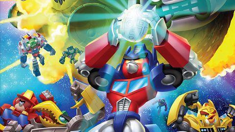 Optimus Ptak rusza do akcji w zwiastunie Angry Birds Transformers