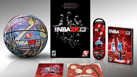 Edycja kolekcjonerska NBA 2K13 stawia na użyteczność