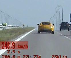 Auto na A4 pędziło 248 km/h. Kierowca mercedesa pożałuje