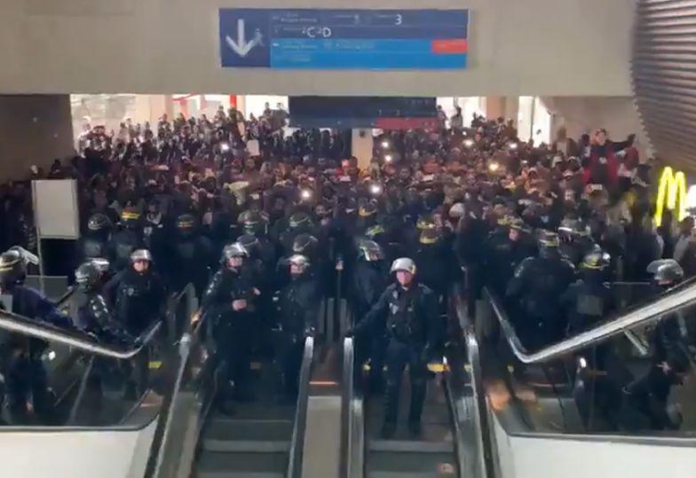 """Imigranci okupowali lotnisko w Paryżu. """"Francja nie dla Francuzów!"""""""