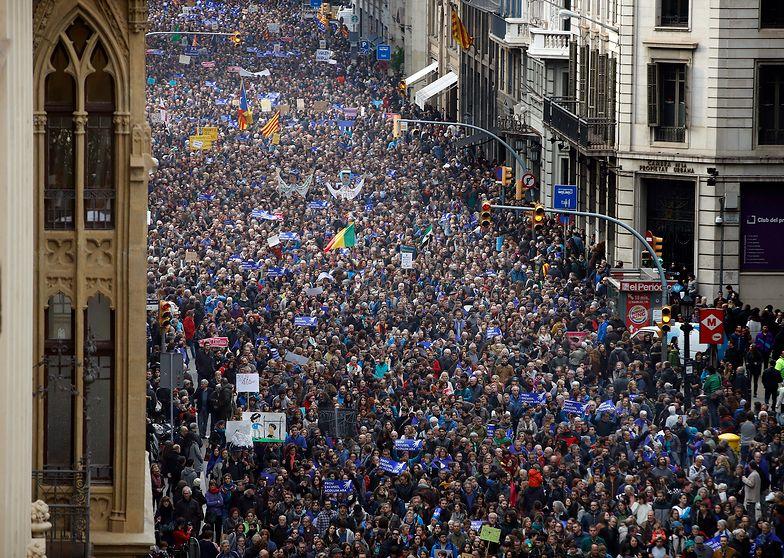 Gigantyczny protest w Hiszpanii. Chcą więcej uchodźców