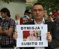 Protest przed Nuncjaturą Apostolską w Warszawie. Żądają dymisji abpa Marka Jędraszewskiego
