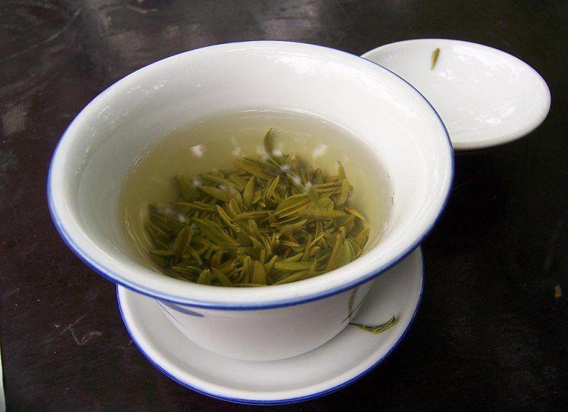 2. Rozładowanie stresu - zielona herbata