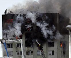 Preszów. Wybuch gazu w wieżowcu na Słowacji. Ludzie uwięzieni w ogniu, są ofiary