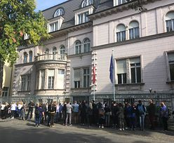 Wybory parlamentarne 2019. Ogromne kolejki przed ambasadą w Budapeszcie