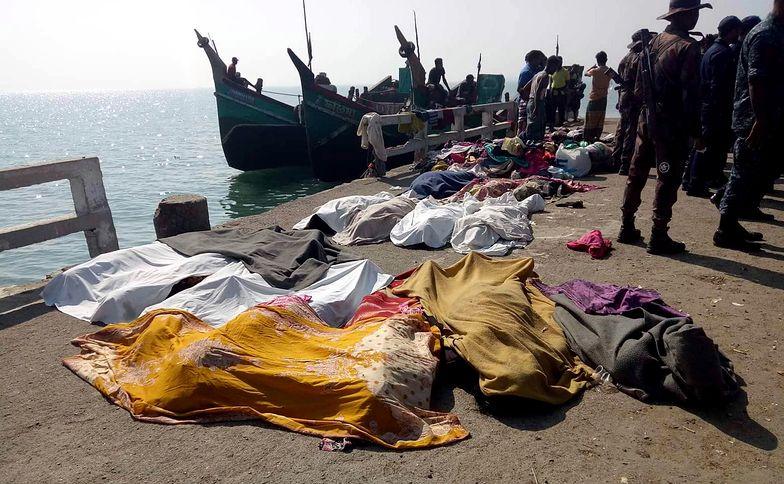 Bangladesz. Katastrofa łodzi z ponad setką uchodźców na pokładzie