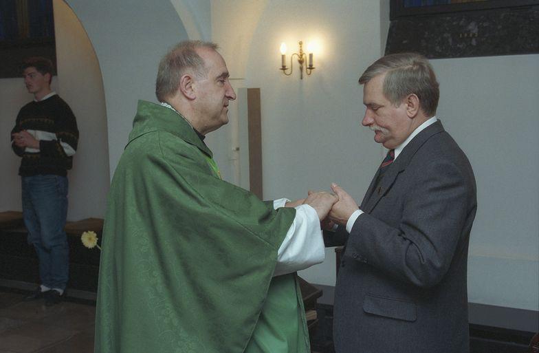 Ks. Franciszek Cybula został spowiednikiem Lecha Wałęsy w sierpniu 1980 r.