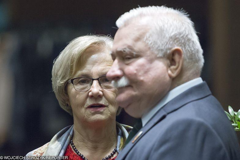 Danuta i Lęch Wałęsa