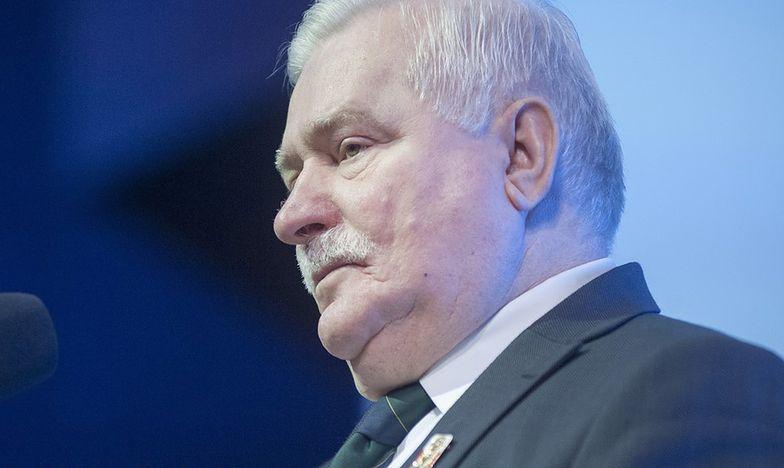 Poirytowany Wałęsa w mocnych słowach odpiera atak