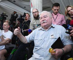 """Lech Wałęsa """"nie wyklucza"""" spędzenia nocy z protestującymi. """"Sejm to jednak ładne pomieszczenia"""""""