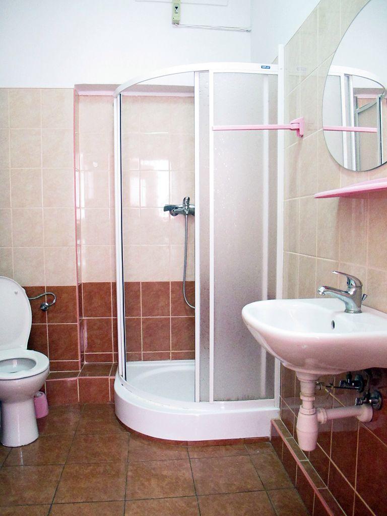Łazienka na sali