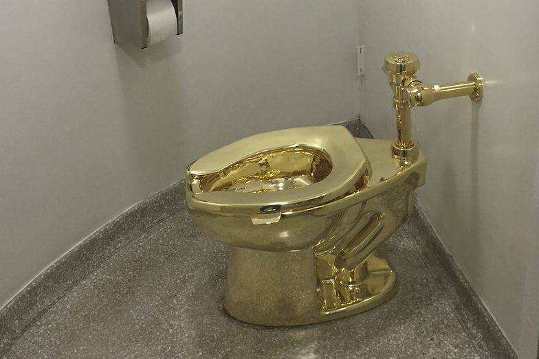 Włamanie do Pałacu Blenheim. Skradziono toaletę z 18-karatowego złota