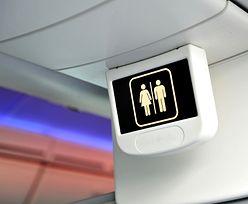 Jak działają toalety w samolotach?