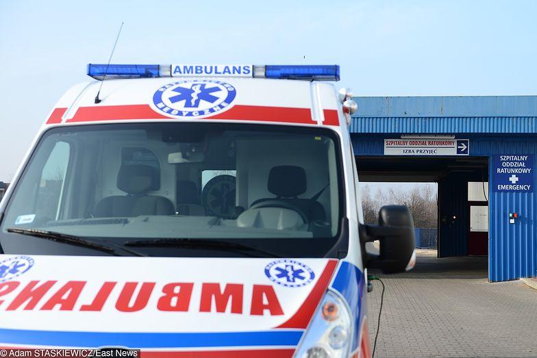 Nastolatka trafiła do szpitala