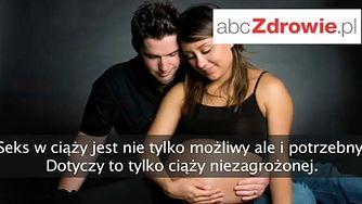 Fakty o zdrowiu - Seks w ciąży (WIDEO)