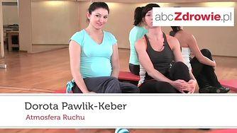 Ćwiczenie pilates - klamra (WIDEO)