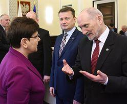 Minister Macierewicz 47 razy leciał wojskową CASĄ. 6,7 mln zł na loty rządu