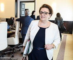 Strajk nauczycieli pogrąża Annę Zalewską. Czarne chmury nad szefową MEN