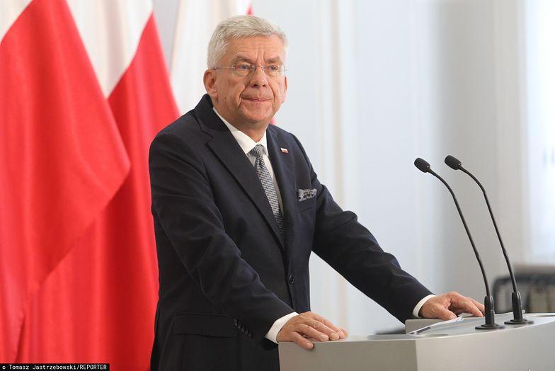 Stanisław Karczewski odniósł się do słów Jarosława Gowina o reformie sądownictwa