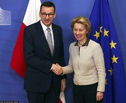 Spotkanie Mateusza Morawieckiego z Ursulą von der Leyen. Jest komentarz premiera