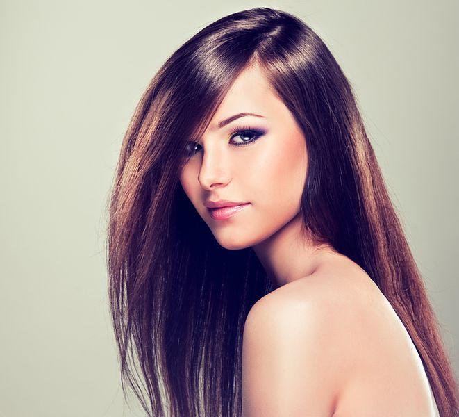 Gładkie włosy